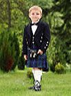 Standard acrylic kilt for the wee one!  Kilt includes your choice of over 100+ tartans, belt loops, heavy straps, and buckles. Also includes cotton inner sweat panel and invisible front facing. Hem for weighted movement and future alteration.